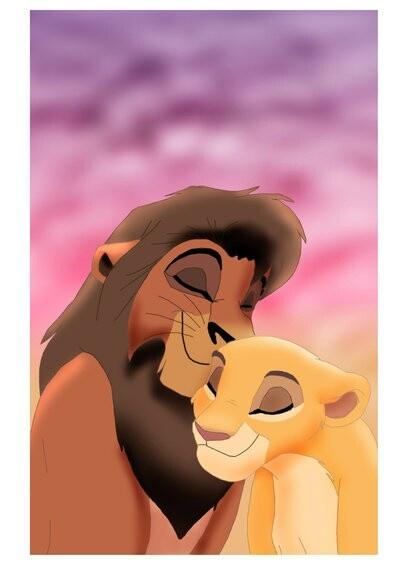 Kovu (Zira's son/Scar's adopted son/Nuka and Vitani's younger brother) and Kiara (Simba and Nala's daughter/Kopa's younger sister and Kion's older sister)