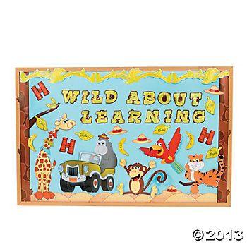 127 Pc. Safari Bulletin Board Set