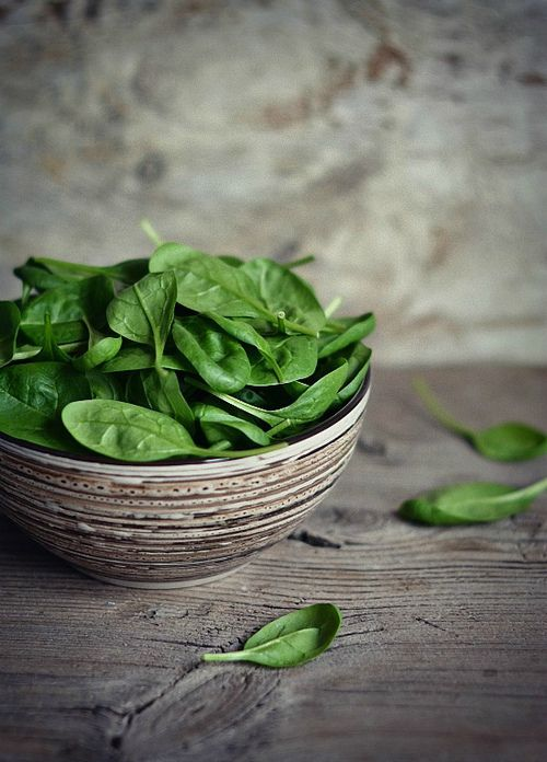spinach ...