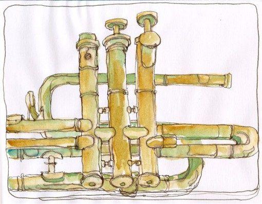 Sketch One, Broken Trumpet Parts