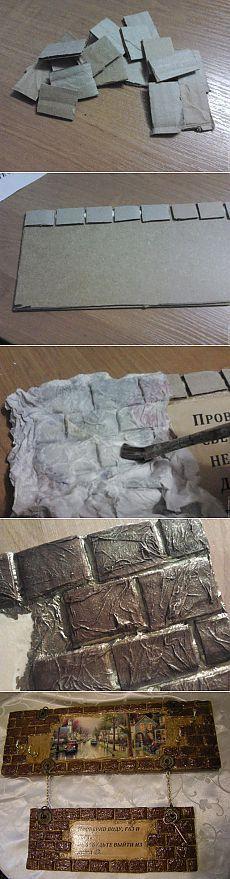 Cartone portachiavi