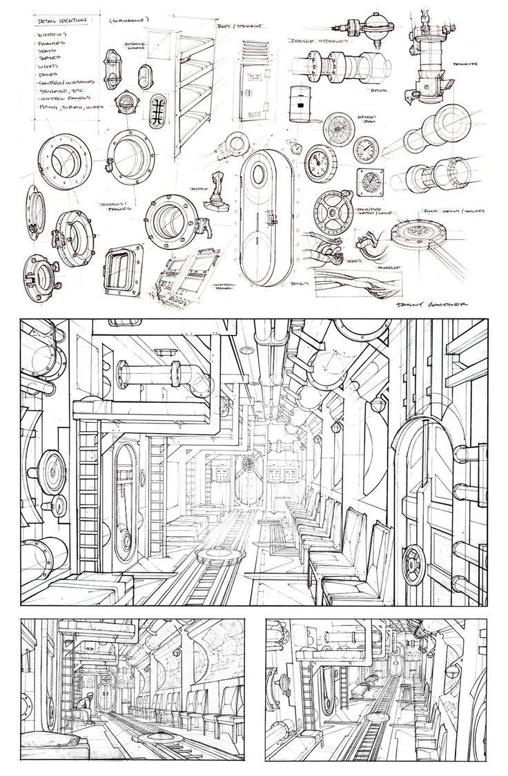 Perspective Drawings - dannydraws