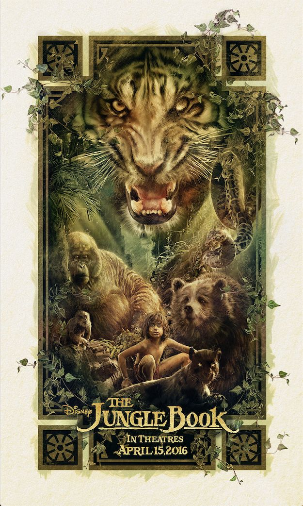 """The Poster Posse Partners With Disney For The Upcoming Blockbuster Directed By Jon Favreau """"The Jungle Book"""""""