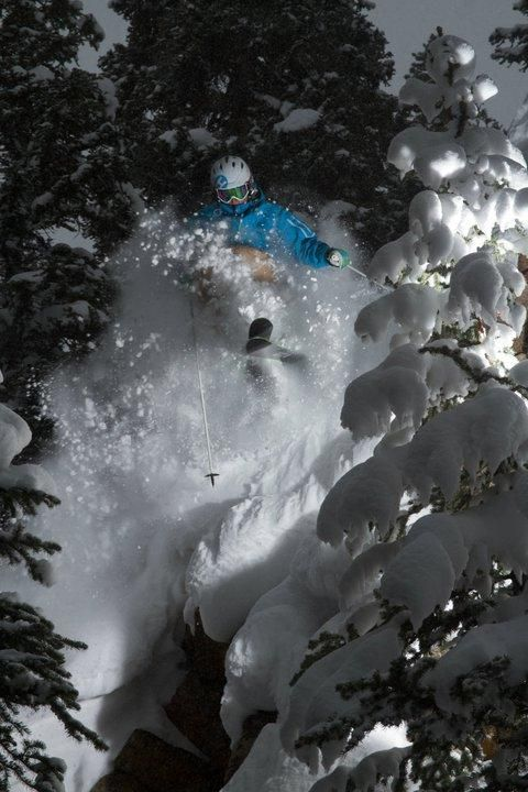 Aspen, CO -- Skier: Jeff King #Skiing -- Find articles on adventure travel, outdoor pursuits, and extreme sports at http://adventurebods.com