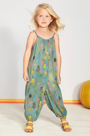 Buy Teal Pineapple Print Playsuit (3mths-6yrs) online today at Next: United States of America