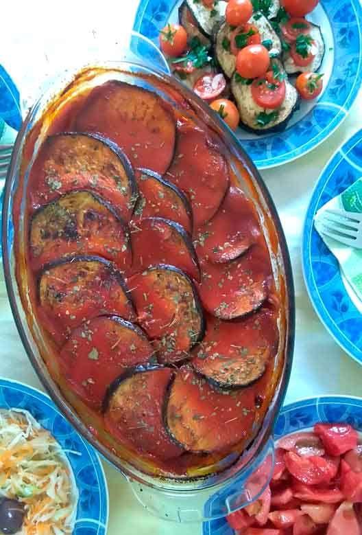 Веганска мусака од модри домати со печурки » Готвиме заедно | Vegan moussaka with eggplants and mushrooms » We cook together
