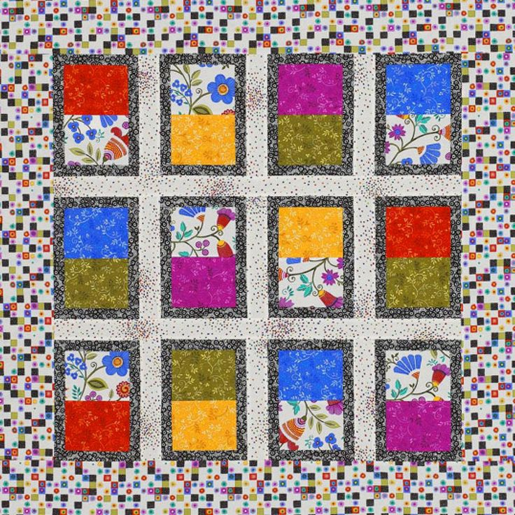 36 Best Quilts For Large Scale Prints Images On Pinterest