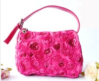 Rose evening bag