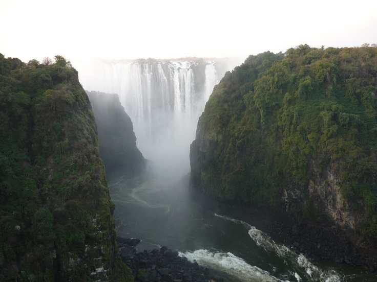 Victoria Falls from the Zambia/Zimbabwe border