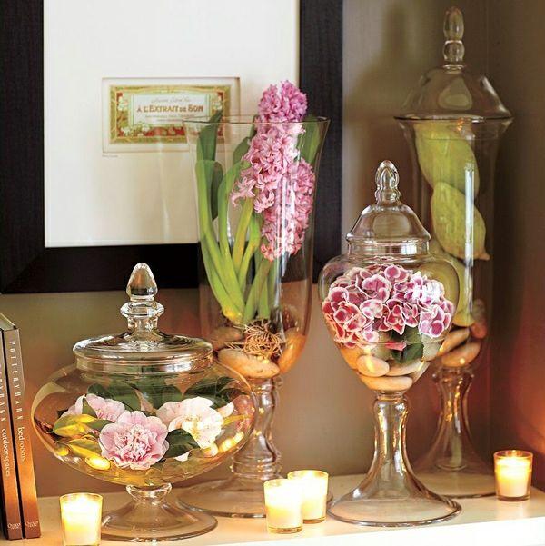 Schöne Deko Ideen zum Muttertag - verschönern Sie Ihre Wohnung !