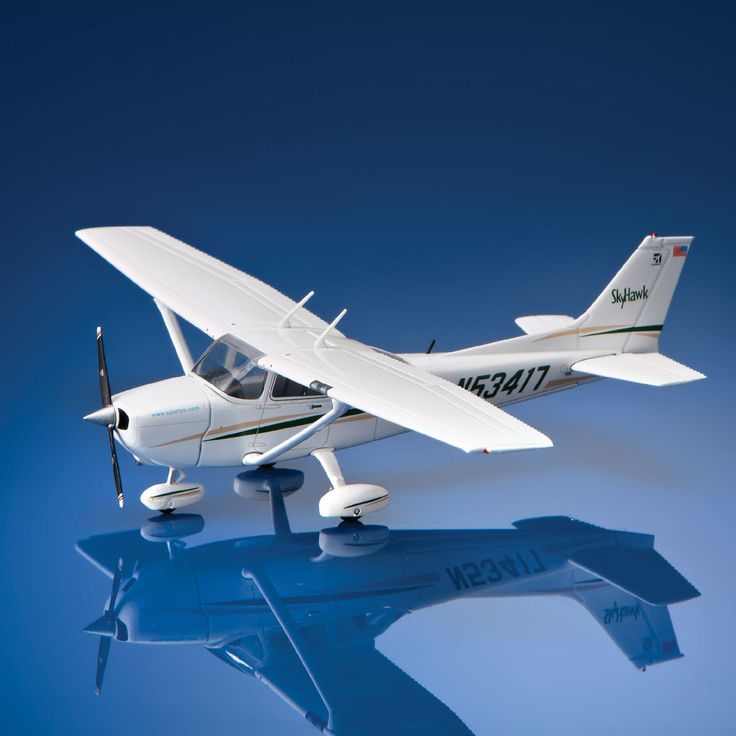 Sporty's Cessna 172 Skyhawk Die-Cast Model