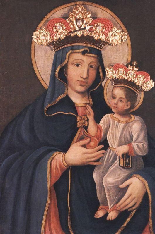 Obraz Matki Boskiej Piekarskiej – Piekary Slaskie - Poland,