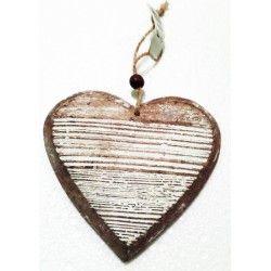 Dekorace - Srdce dřevěné