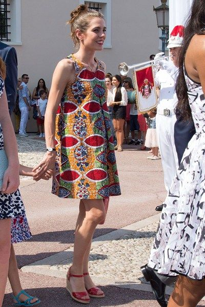 Prince Albert II of Monaco Ten Year Party - Princess Charlene of Monaco, Charlotte Casiraghi, Andrea Casiraghi, Tatiana Santo Domingo - Princier Palace, Monaco - Bystander Photos - Tatler Magazine