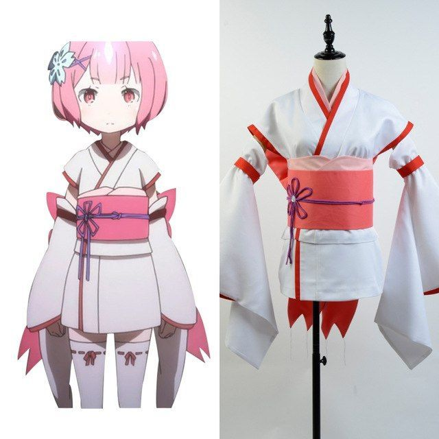 Re:Zero Life in a Different World from Zero Little Ram Cosplay Costume