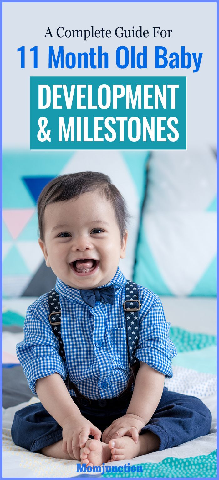 11-Month-Old Baby's Developmental Milestones - A Complete Guide