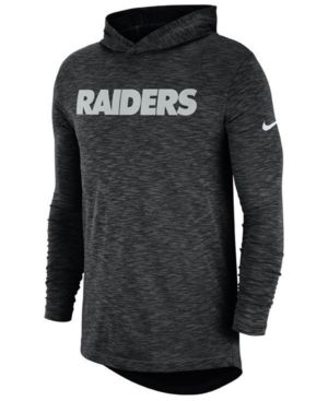 7991d3bd1 nike New York Jets. Nike Men s Oakland Raiders Dri-Fit Cotton Slub On-Field  Hooded T-Shirt - Black 3XL