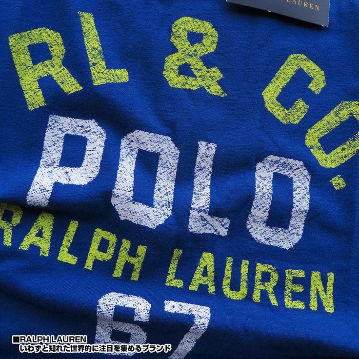 【楽天市場】POLO RALPH LAUREN ボーイズ ポロ ラルフローレン Tシャツ Vintageプリント 半袖 メンズ レディース カジュアルファッション ブランド トップス323530377005ブルー【あす楽対応】【YDKG-k】【kb】【H-TS】■02150522:HYPE