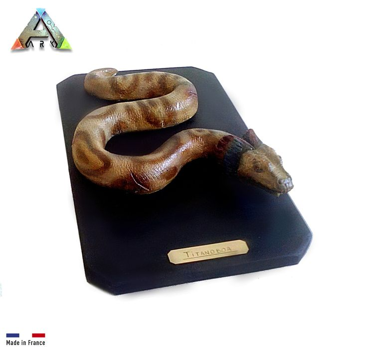 ARK survival evolved: Carnivore - Titanoboa. En argile 100% naturel. : Sculptures, gravures, statues par figurinesheros