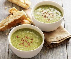 Rezept: Cremige Brokkolisuppe