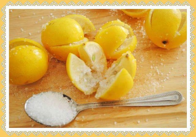 Monica Aries: ¿Por que poner Limón con Sal, en las habitaciones?...
