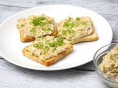 Tojásos tonhalkrém recept