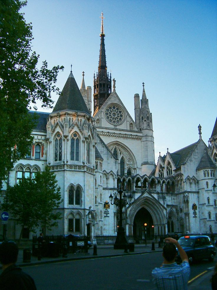 Royal Court of Justice,commonly called the Law Courts,is the building in London which houses the Court of Appeal of England & Wales & the High Court of Justice of England & Wales.The building is a large grey stone edifice in the Victorian Gothic style designed by George Edmund Street,a solicitor turned architect,built in the 1870s.The Royal Courts of Justice were opened by Queen Victoria.It is surrounded by the four Inns of Court,King's College London & the London School of Economics.