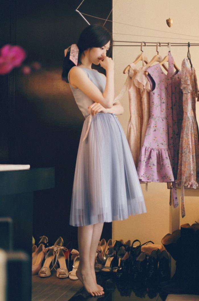 尹善英,milkcocoa模特。 | Simple Feminine Elegant Formal Chic Outfit