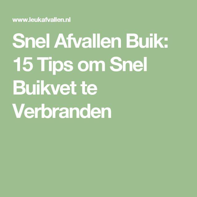 Snel Afvallen Buik: 15 Tips om Snel Buikvet te Verbranden