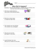 Cause and Effect Worksheets...What a time saver!