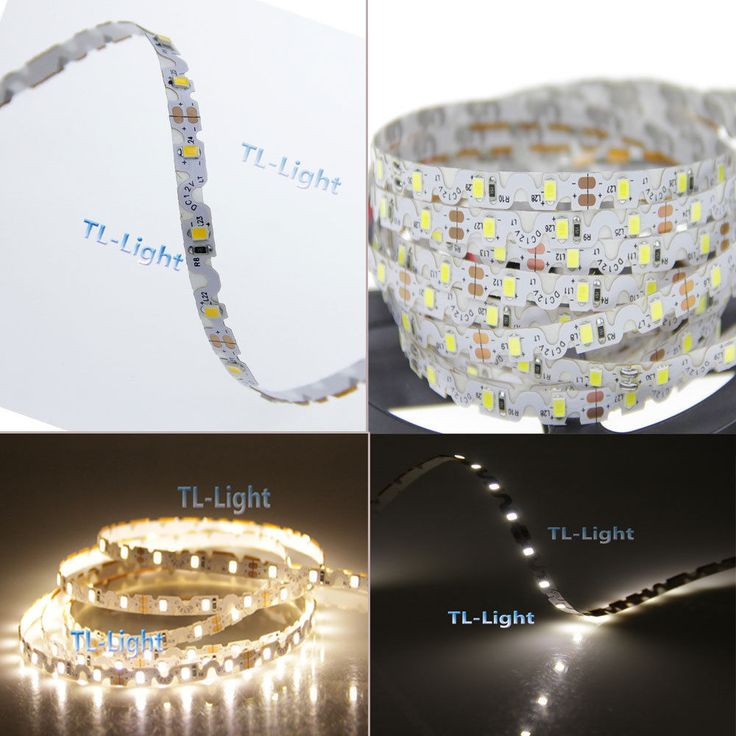 16.4FT 5m 2835 300LEDs SMD White/Warm White Flexible led strip S type light lamp DC 12v. 1x 5M led strip. Architectural decorative lighting,Archway, canopy and bridge edge lighting, Security lighting and Emergency. | eBay!