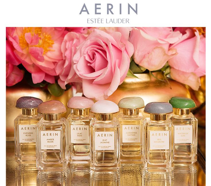 AERIN ESTÉE LAUDER  MORE TO LOVE   Your fragrance favorites,  now in exclusive limited edition  large sizes for the holiday season.   Shop Now »  #AERINBeauty  ONLINE EXCLUSIVE The AERIN Fragrance Collection—Yours Free with $50 purchase* Discover 5 of AERIN's top-rated fragrances in a miniature travel box. Offer Code OCTOBER15 Shop Now »