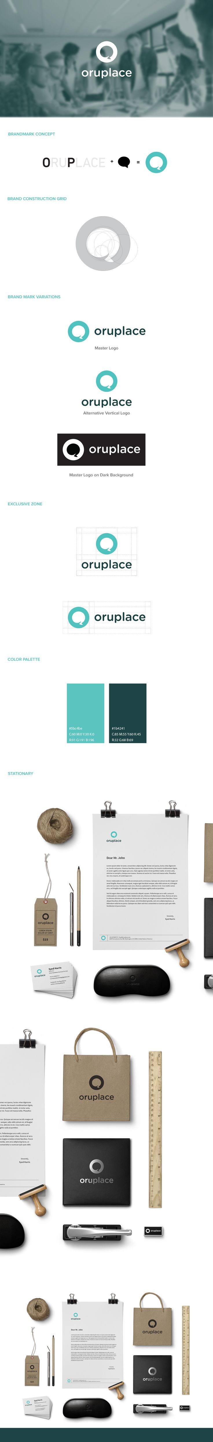 Oruplace Branding and Guidelines on Behance