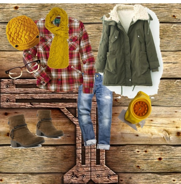 """Fall Bonfires"" by mthiesen on Polyvore"