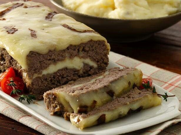 Cheesy meatloaf | Recipes | Pinterest