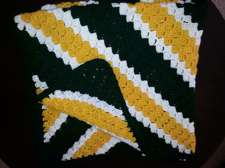free green bay packers afghan pattern