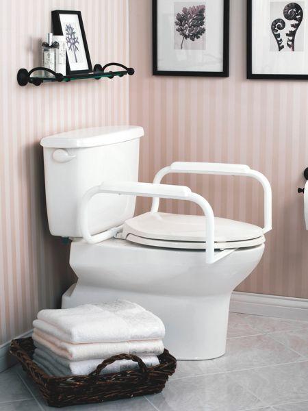 Moen EasyUp Toilet Rail Bathroom safety, Toilet, Toilet