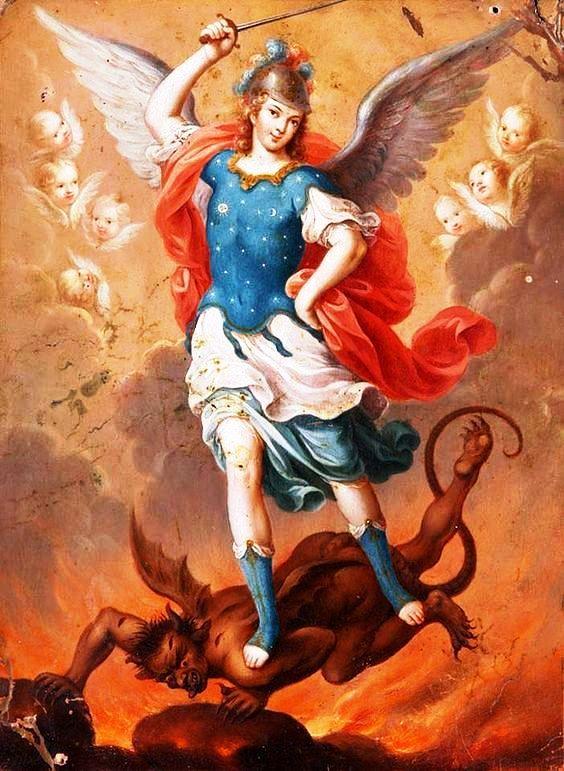 Ángel San Miguel oración para solicitar un favor económico y laboral