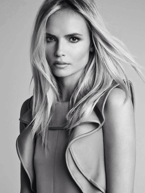 """""""Colour me Happy"""", Natasha Poly photographed by Patrick Demarchelier for Vogue China January 2014"""