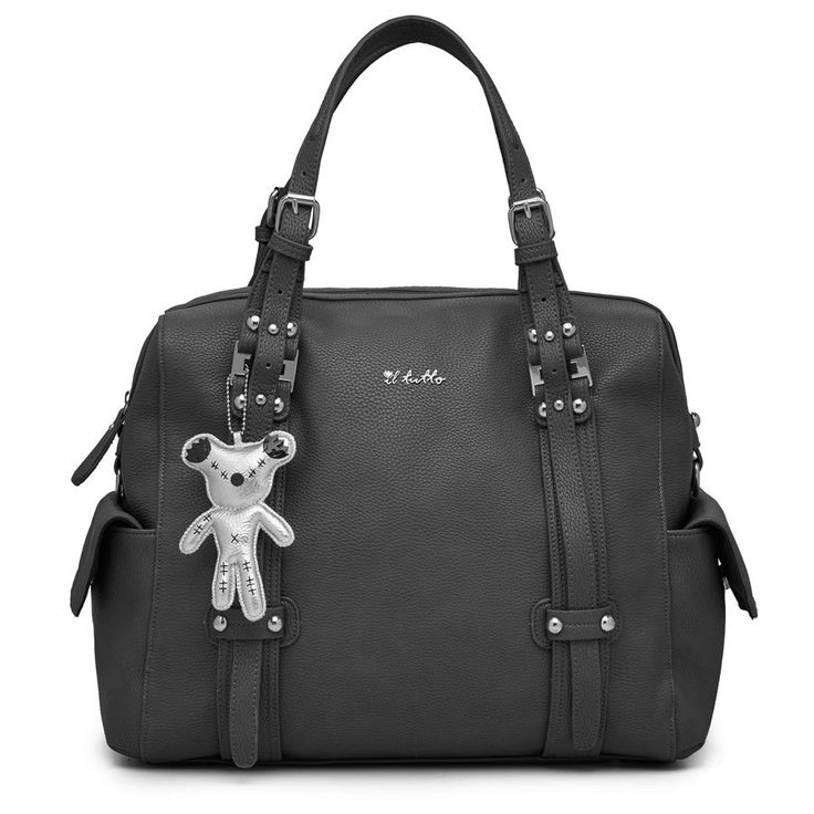 Nico Tote Nappy Bag in Black