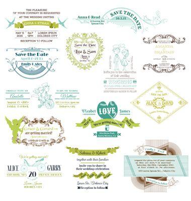 Die 11 besten Bilder zu Wedding Printed Design Elements auf