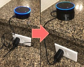 Got an Amazon Echo Dot? Keep Alexa in her place with this 3D-printed cable hider!