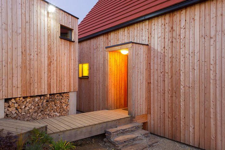 B.Kierulf - CREATERRA: Liptovská Kokava (energeticky pasívne domy) - masívne drevo