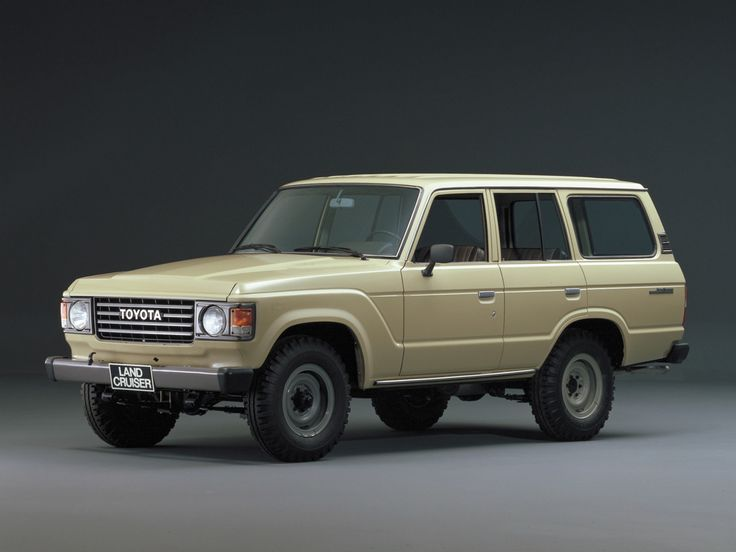 Toyota. This exact landcruiser was what I had but Red growing up. So much fun off roading