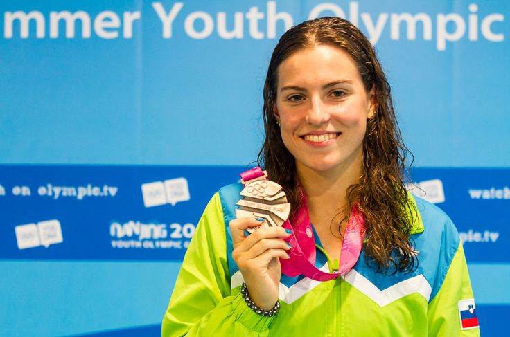 Nastja Govejšek, 3. mesto v plavanju na mladinskih olimpijskih igrah v Nandžingu
