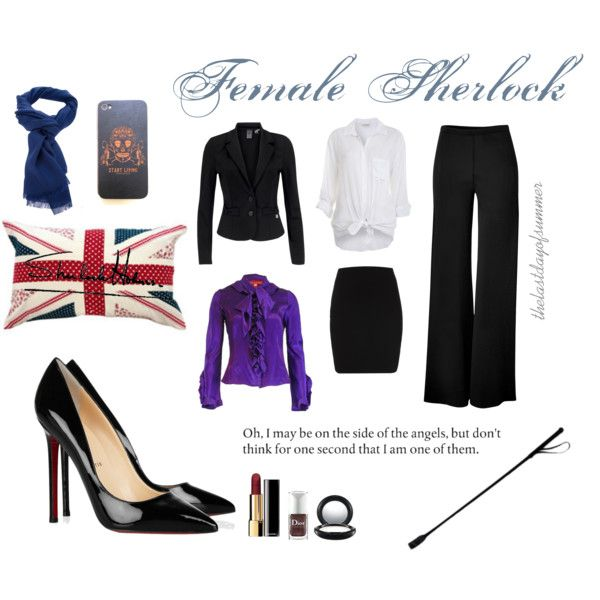 """Female Sherlock"" by thelastdayofsummer on Polyvore"