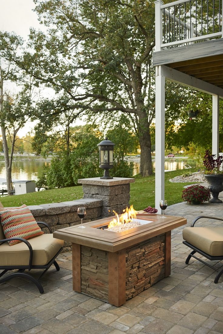 150 best outdoor greatroom images on pinterest gas fire pits