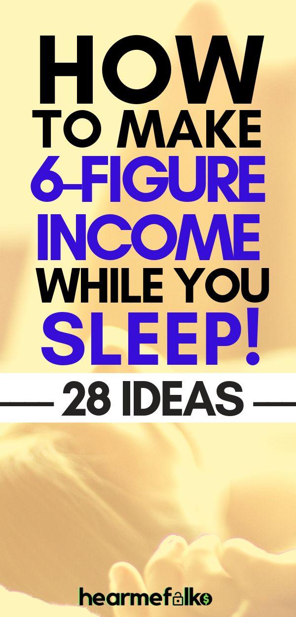 28 Legit Passive Income-Ideen, um im Schlaf Geld zu verdienen. Ob es #small ist …   – Miscellaneous