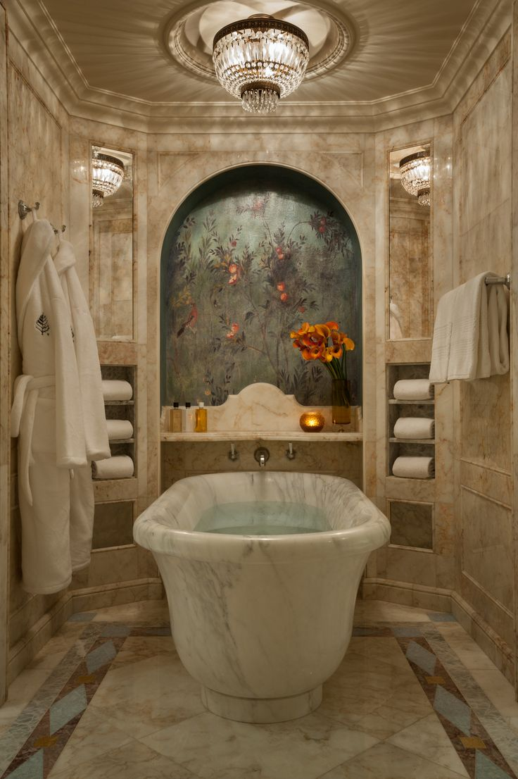 236 best images about bathtubs on pinterest soaking tubs for Beautiful washrooms