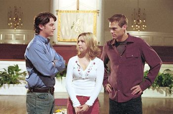 roxanne and chandler  on 7th  heaven | ... ) and Chandler Hampton (Jeremy London) at the church on 7th Heaven